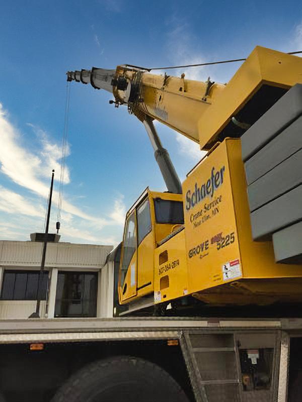 schaefer crane service crane